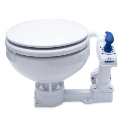 Albin Manual Marine Toilet - Compact