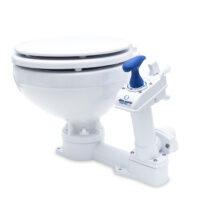 Albin Manual Marine Toilet - Compact