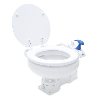 Albin Manual Marine Toilet - Compact Low