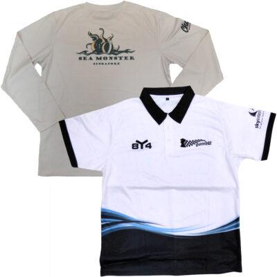 Custom Printed Polo Shirts & T-Shirts