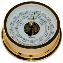 Autonautic B120D Gold Plated Barometer 120mm - SALE