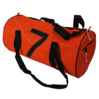 Bainbridge Sailcloth Holdall Bag, Orange - 43L