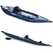 Aquaglide BlackFoot HB Angler XL Inflatable Fishing Kayak