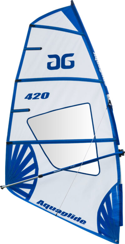 Aquaglide Cascade 11' WindSUP Inflatable SUP Windsurfer With 4.2m or 5.2m Rigs
