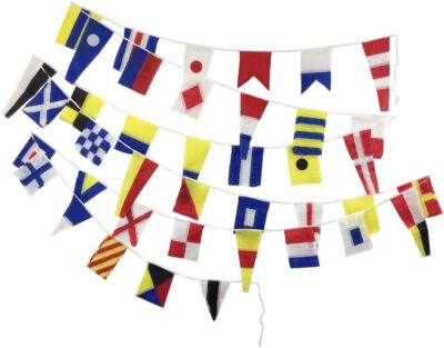 International Nautical Code Flags Set