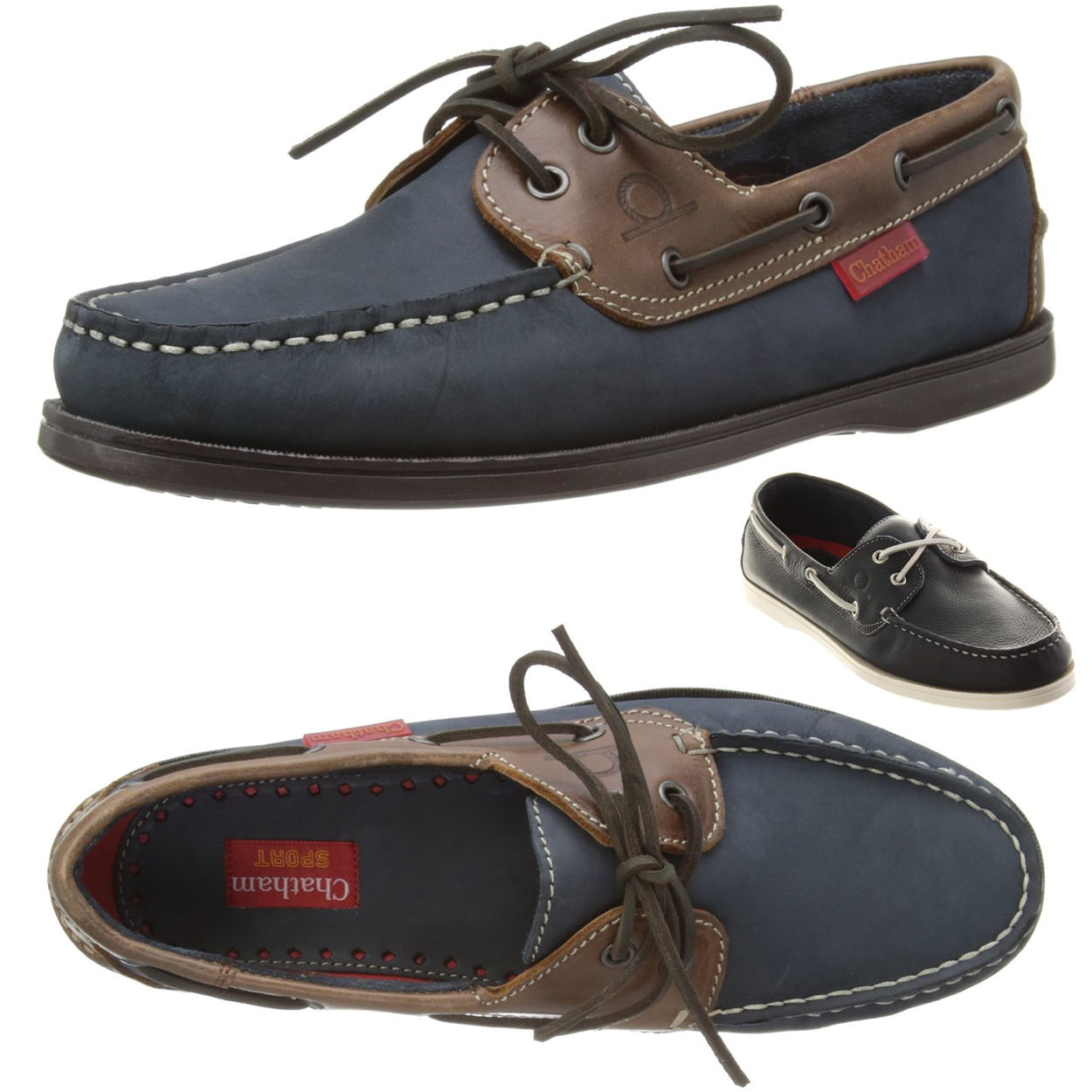 Commodore Deck Shoes - Made from