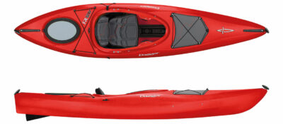 Dagger Axis E 10.5 - Crossover Kayak Red