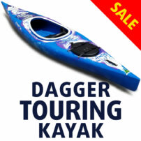 Dagger Discovery 13 - Sit In Touring Kayak SALE
