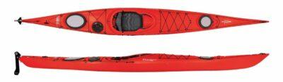 Dagger Exodus - Touring Kayak 16ft/5m Red