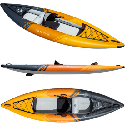 Aquaglide Deschutes 110 Inflatable Single Kayak