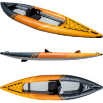 Aquaglide Deschutes 130 Inflatable Single Kayak
