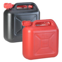 10L Jerry Can With Flexi Spout UN Certified Fuelcan - Red & Black