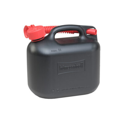5L Jerry Can With Flexi Spout UN Certified Fuelcan - Black