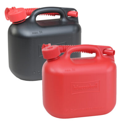 5L Jerry Can With Flexi Spout UN Certified Fuelcan - Red & Black
