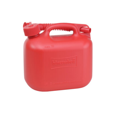 5L Jerry Can With Flexi Spout UN Certified Fuelcan - Red