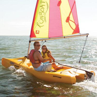 Laser Funboat - True entry-level sailboat