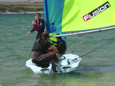 Fusion Sailboats - Fusion Dinghy, Four Set-Up Options