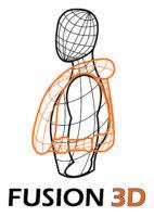 Fusion 3D logo