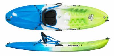 Islander Hula - Sit On Top Fun Sized Kayak Emerald