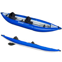 Aquaglide Klickitat 125 HB Inflatable Kayak