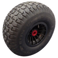 Dynamic Dollies Large Wheel 18x9.5 - For Beaches and Soft Ground