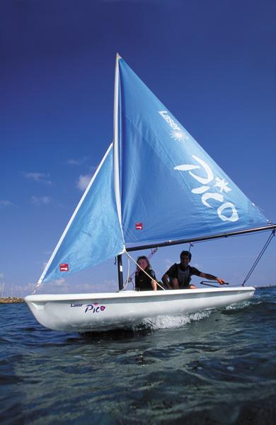 Laser Pico - a fun, durable, confidence-inspiring, boat