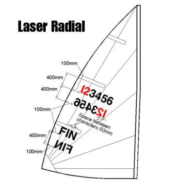 Laser Radial Sail