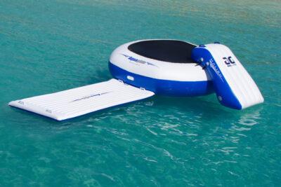 Aquaglide Malibu Aquapark - Inflatable Bouncer, Slide and Walkway Set