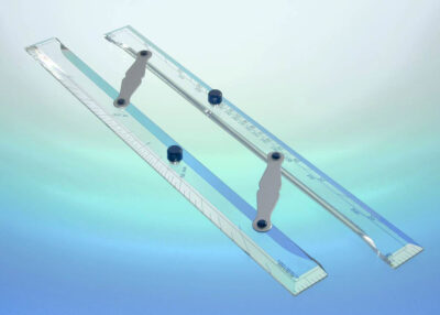 Blundell Harling Middy Instructional – Bar Parallel Rule 400mm