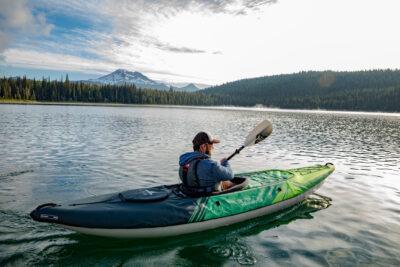 Aquaglide Navarro 130 Convertable Inflatable Single Kayak