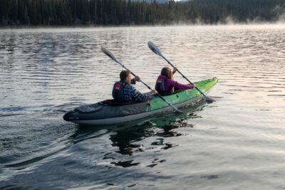 Aquaglide Navarro 145 Convertable Inflatable Double Kayak