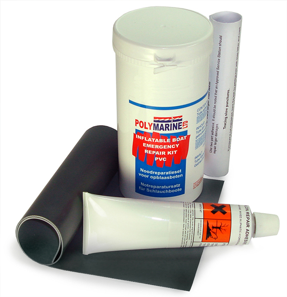 polymarine pvc emergency boat repair kit ideal to keep. Black Bedroom Furniture Sets. Home Design Ideas