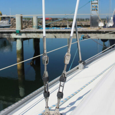 Proboat Shroud Cover - Protects sails etc. from chafing against cables