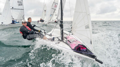 RS200 - One of the most popular 2 person sailboats of today
