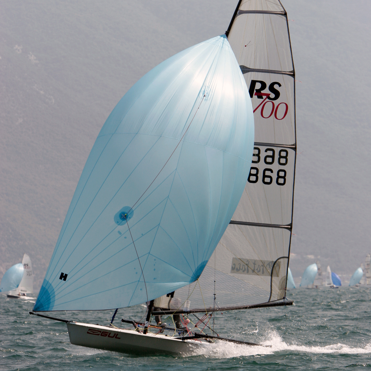RS700 - Quick, exciting and user friendly Single Handed Skiff
