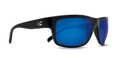 Redding Matt Black Blue Lens