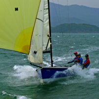 Laser SB3 (SB20) 6.15m Keelboat - Sky's The Limit