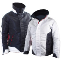 Bainbridge Sailcloth Jacket - Navy & White