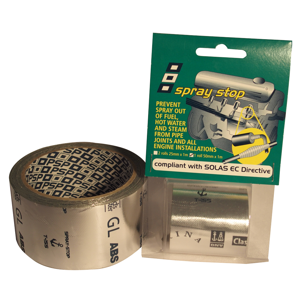 PSP Spray Stop Tape - Prevent the risk of spray out from pipes