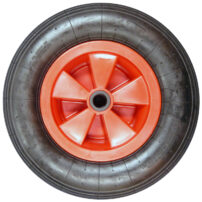 "Standard Trolley Wheel - 4.80/4.00-8 With 1"" Bore"
