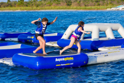 Aquaglide Tango - Inflatable Bounce Station