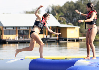 Aquaglide Triad - Floating Inflatable Balance Beam