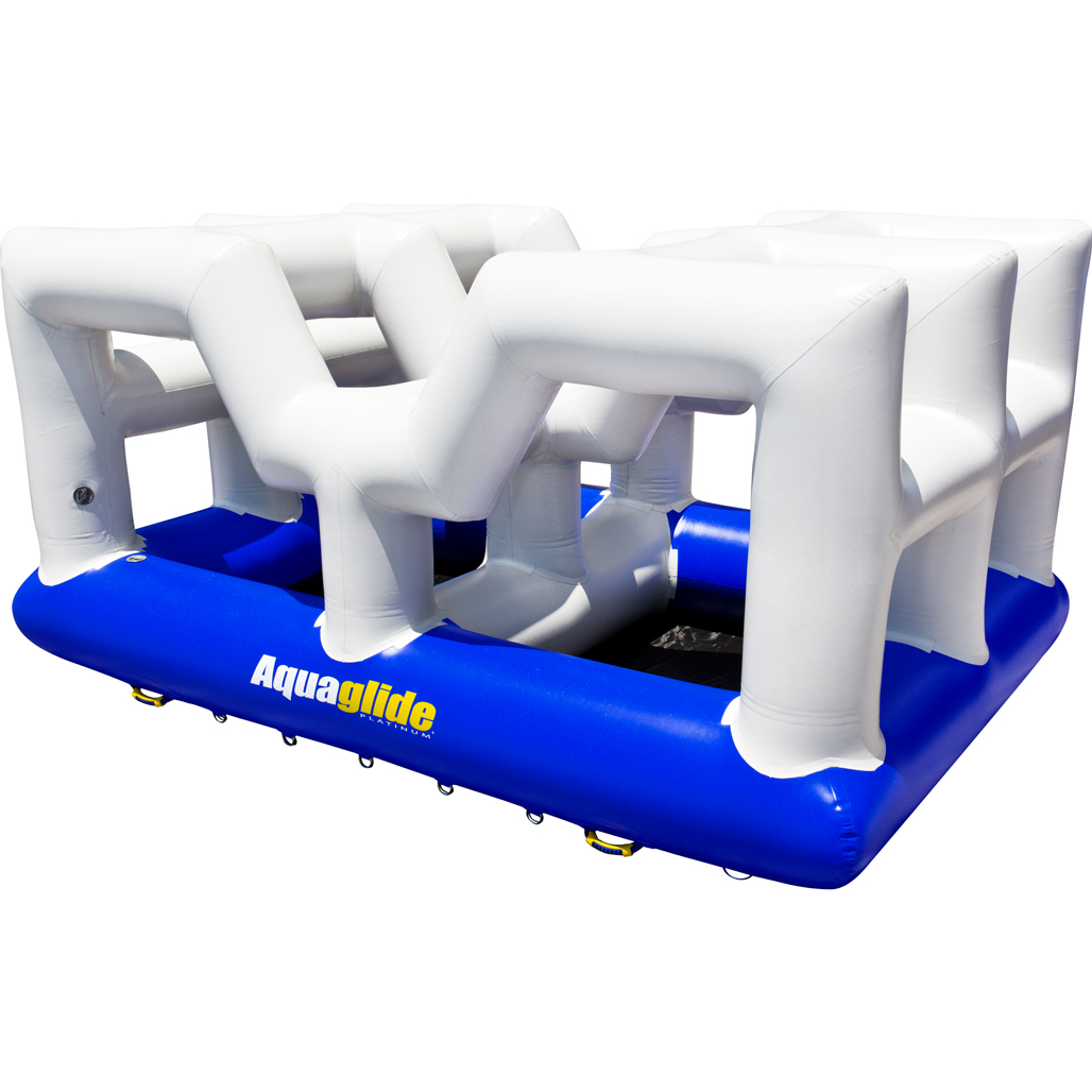 Inflatable Water Slides Naples Fl: Inflatable Water Play Station For Pools