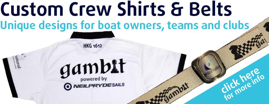 Custom Crew Shirts & Belts