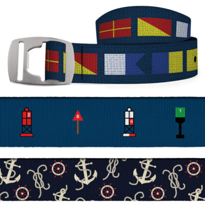 Croakies Sailing Belt With Bottle Opener Buckle - Various Styles