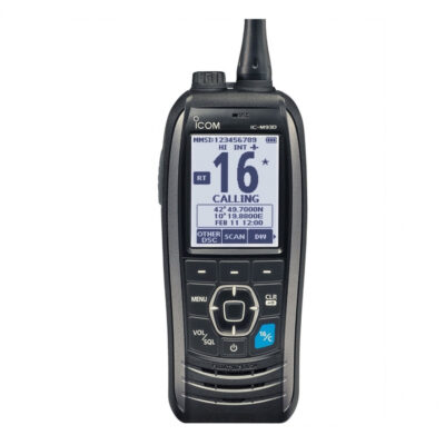 iCOM IC-M93D Floating DSC VHF Radio - World's Slimmest