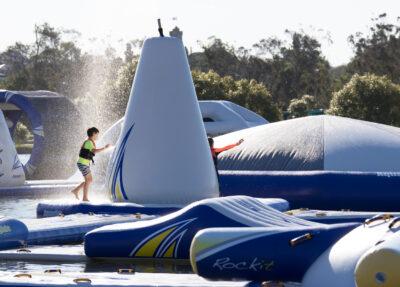 Aquaglide Monsoon - Revolutionary Sprinkler System for Waterparks
