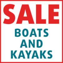 SALE - Boats, Inflatables and Kayaks