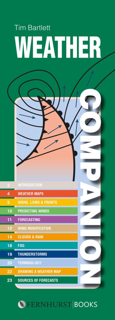 Weather Companion - Spiral Bound, Splash Proof Book